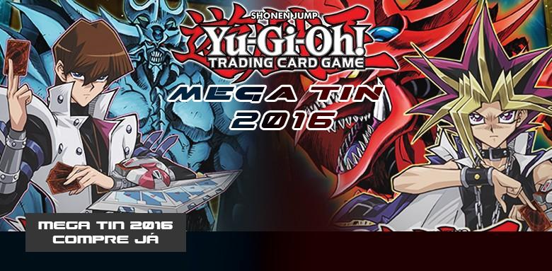 YUGIOH - MEGA-TINS 2016