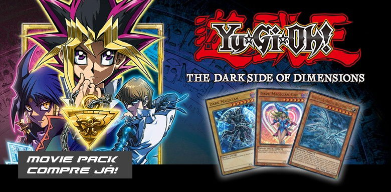 YUGIOH - THE DARK SIDE OF DIMENSIONS MOVIE PACK