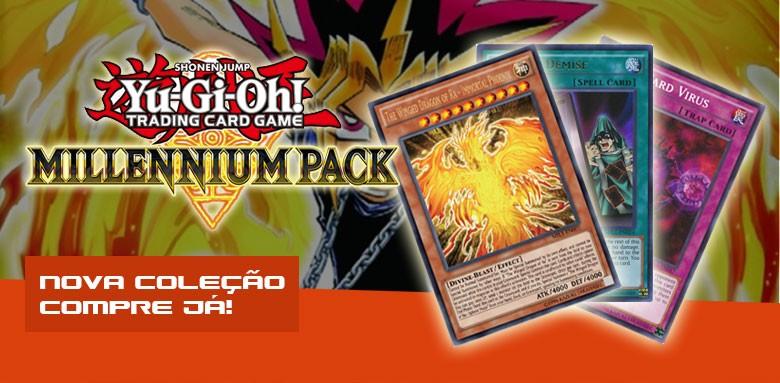 Nova Coleção Yugioh Millenium Pack - Compre já