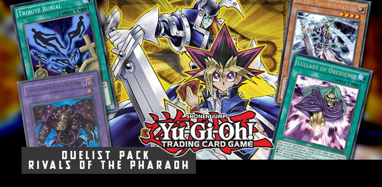 YUGIOH - DUELIST PACK: RIVALS OF THE PHRAOH
