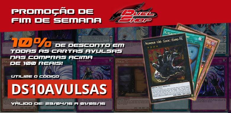 Promoção do fim de semana! 10% de desconto em cartas avulsas nas compras acima de 100 reais. :)